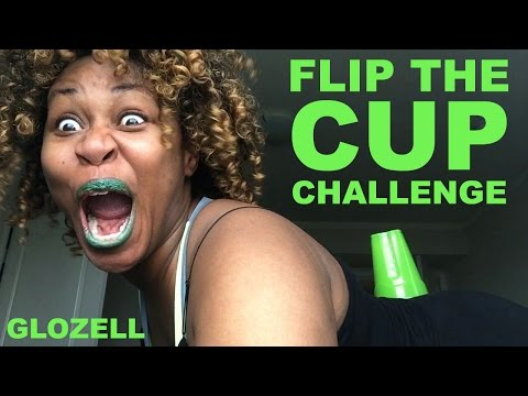 Flip The Cup Challenge - GloZell