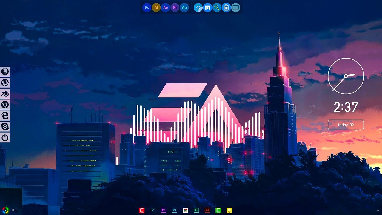 Animated Wallpaper Windows 8 Free Tokyo Desktop 2 Make Windows Look Better Part 1 2018
