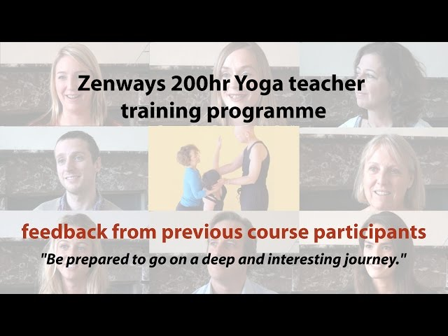 Zenways Yoga Teacher Training Feedback