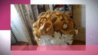 видео Свадебные прически с косами и плетением