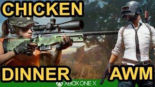 AWM SOLO WIN - PUBG Xbox One X