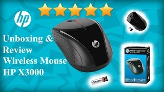 Unboxing & Reviewing the HP X3000 Wireless Mouse
