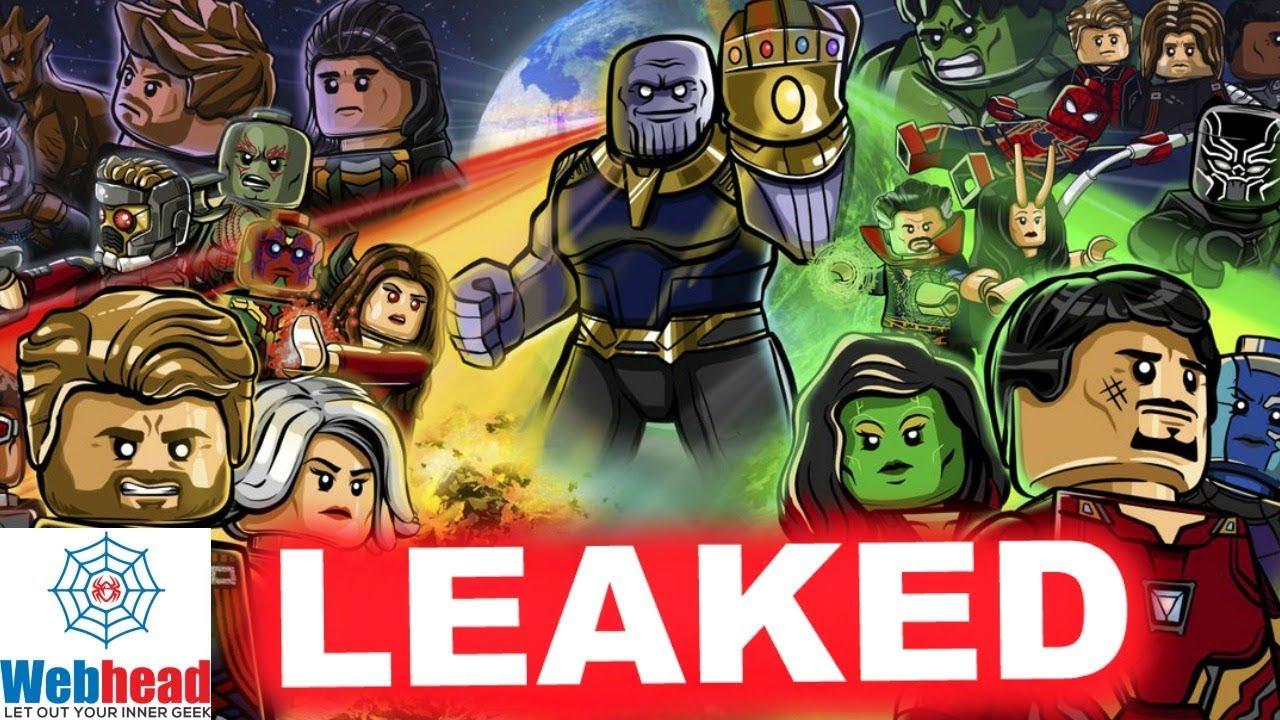 leaked lego sets spoils avengers infinity war! not clickbait