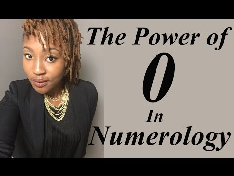 Numerology: Power of the number 0. (Soul In Vibration)