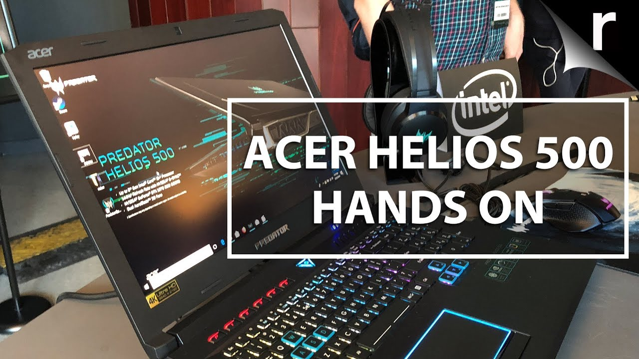 Acer Predator Helios 500   Meaty gaming laptop under £2000