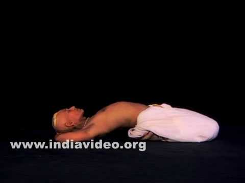 Supta Vajrasana (The Reclining Diamond pose)