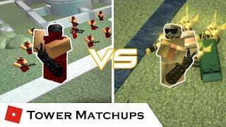 A Golden Rivalry | Tower Matchups | Tower Battles [ROBLOX]