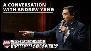 Andrew Yang Speaks to Students at Harvard's Institute of Politics | September 8th 2020