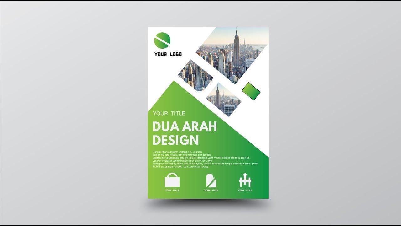 Poster (Brosur) Design Adobe Illustrator - YouTube