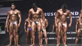 Muscle War 2013 - Open (PreJudging) 3rd Call-Out