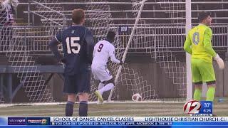 URI falls to UCONN in NCAA Men's Soccer Tournament, 4-3 in OT