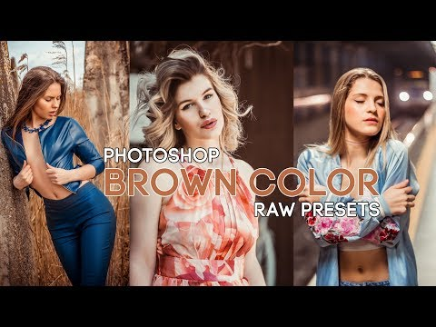 Moody Brown Color Effect Camera Raw Preset Free Download | Photoshop Tutorial thumbnail