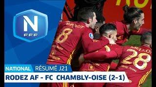J21 : Rodez AF-FC Chambly-Oise (2-1), le résumé I National FFF 2018-2019