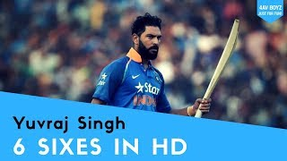 Yuvraj Singh 6 Sixes 🏏in HD- 4AV Boyz