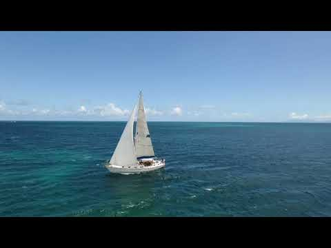 Sailing Re Edited without copyright music Jolly Harbour Antigua