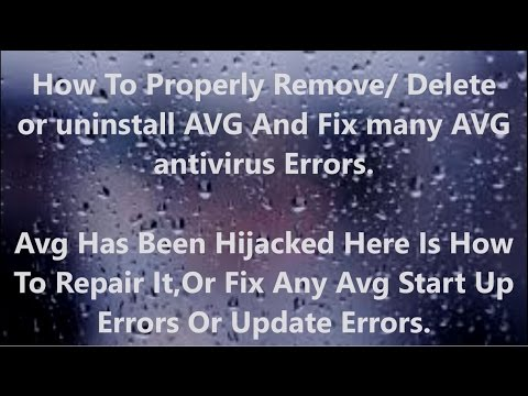 How To Remove Delete Avg Properly Fix Could Not Finish Automatic State Repair Avg