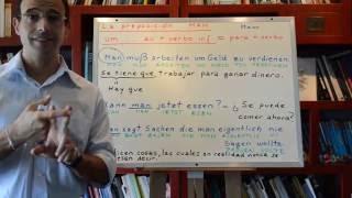 Aprender Aleman con Rodrigo 36 Pronombre indefinido MAN