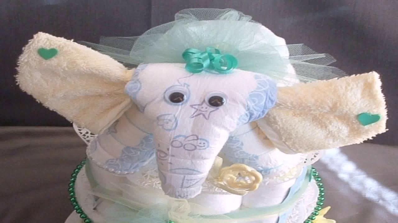 Diy Elephant Baby Shower Decorations Youtube