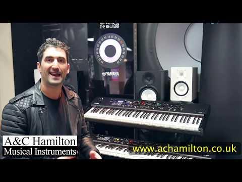 Yamaha CP88 / CP73 Stage Piano Demo With Luke Juby - A&C Hamilton