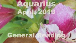 Aquarius CRUEL TO BE KIND April 2019 General Tarot Reading