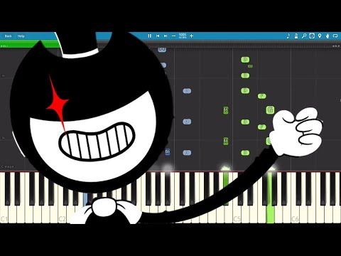 Bendy Chapter 2 Song - Gospel Of Dismay - DA Games - Piano Tutorial / Cover
