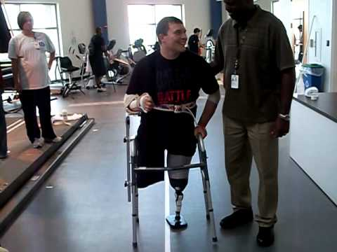 SPC Zimmerman takes First Steps!