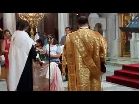 Yunanistan Da çocuk Kutsama Töreni