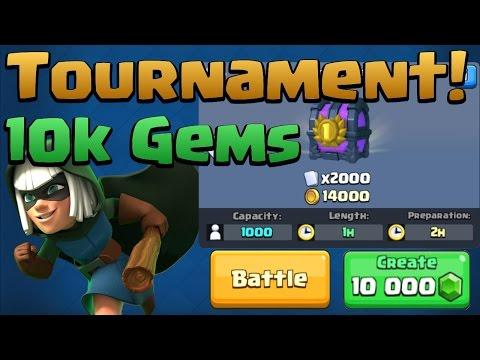10k Gem Tournament! 2k Card Grand Prize!