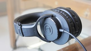 Audio Technica ATH-M20x review! (Mrwhosetheboss)