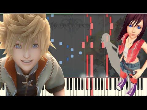 Kingdom Hearts - Passion [Piano Tutorial] (Synthesia) // Kyle Landry + SHEETS/MIDI
