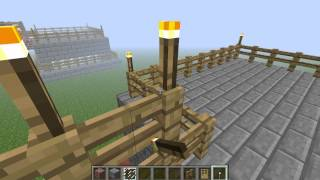Уроки строительства часть 2 (дом с местом на крыше)