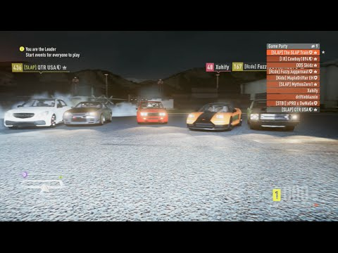 Forza Horizon 2 KING! I Beat My Record! Online Open Lobby (Focus,Lancer,4C)