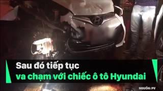 Tai nạn trên cầu Chương Dương Hà Nội Rạng sáng ngày 13/7/2017