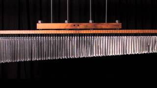 TRE70db - TreeWorks Chimes InfiniTree 140 bar Double-row Classic Chime, NEW video!