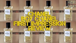 Boy Chanel Review - First Impressions | FRAGRANCE REVIEW