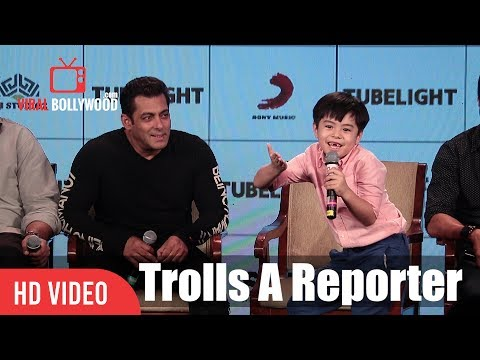 Matin Rey Tangu Trolls A Media Reporter | Tubelight Fun Night With Salman And Team