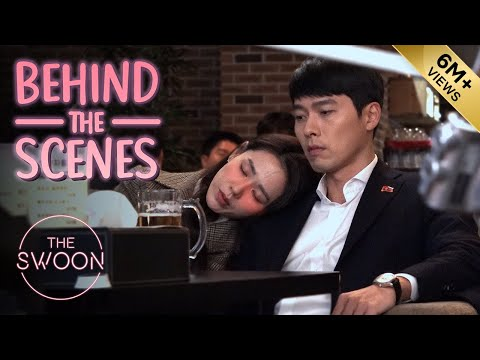 [Behind The Scenes] Hyun Bin's Broad Shoulders Are Put To Good Use | Crash Landing On You [ENG SUB]