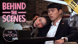 Download lagu [Behind the Scenes] Hyun Bin's broad shoulders are put to good use | Crash Landing on You [ENG SUB]