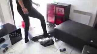 Crazy Girlfriend In France Finds Out Her Boyfriend Is Cheating.. She Destroys  Everything!