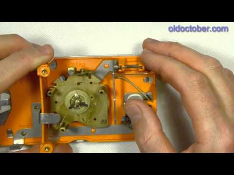 Как починить и смазать механические часы, будильник?