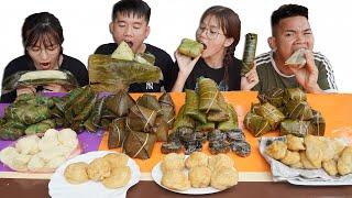 Hưng Troll | Thử Thách Người Cuối Cùng Ngừng Ăn Bánh Giò vs Bánh Chưng Vs Bánh Rán Thắng Nhận 500$