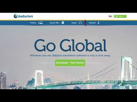 How to Download and Install Babylon Translation Software on Windows