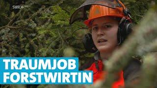 Gefährlicher Job im Wald: Sarah Löffler ist Waldarbeiterin