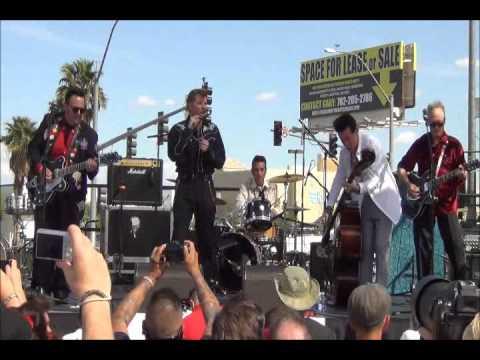 The Rockats – Viva Las Vegas Car Show 2014