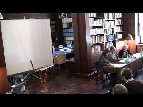 "Conference: ""Negotiating the Enlightenment,"" Prof. Joseph Buttigieg"