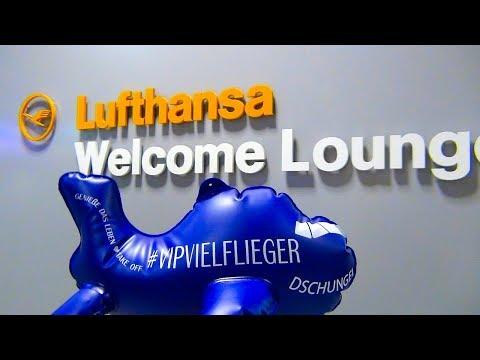 LUFTHANSA VIP   NEU   Welcome Lounge   Arrival   Airport Frankfurt   HON Circle   SENATOR   FTL