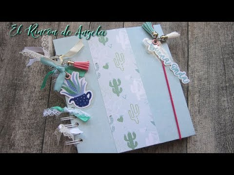 Scrapbooking- Tutorial -Agenda personalizada-Bullet journal-Smash book