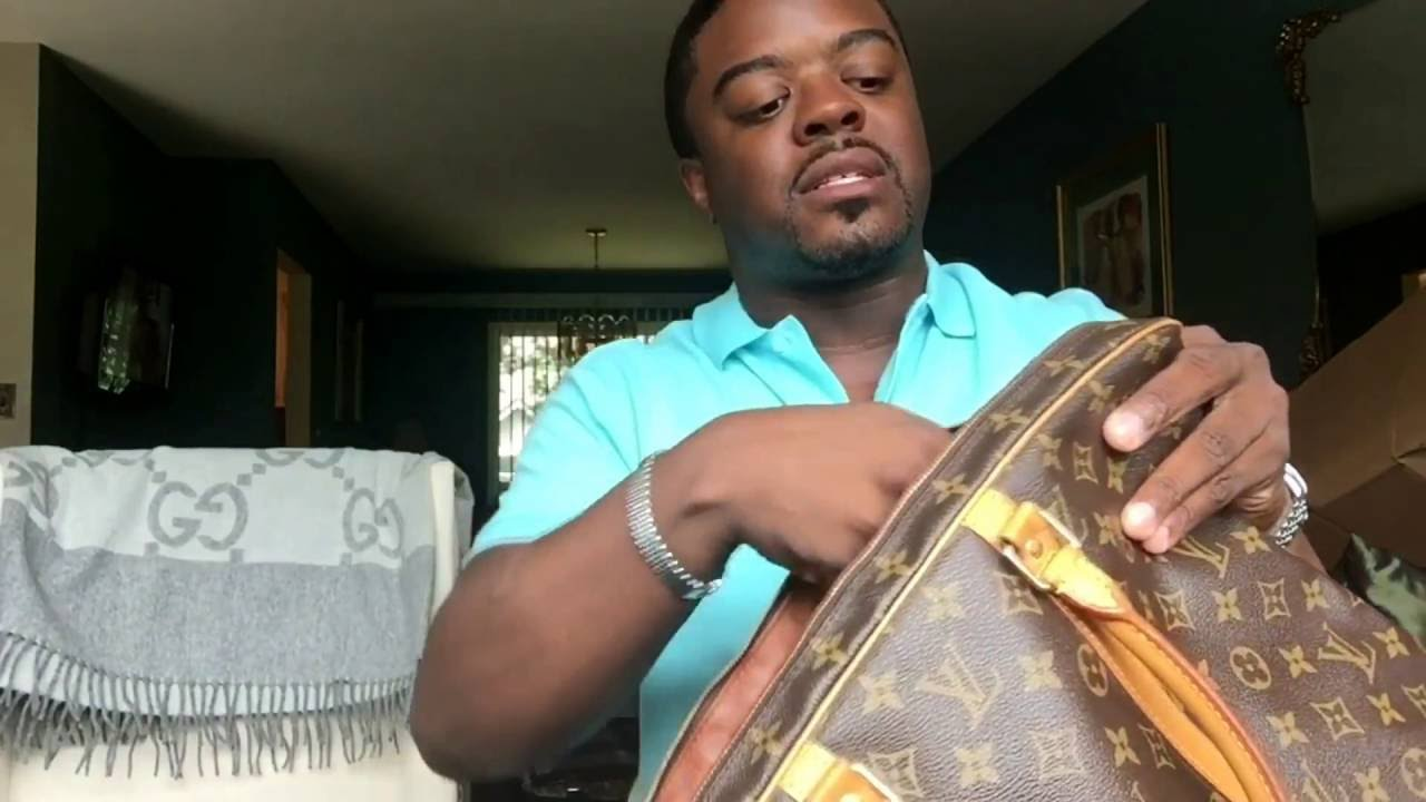 964d4b7bb697 Louis Vuitton Unboxing - Tradesy Purchase - YouTube