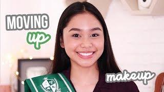 Graduation/Moving Up Hair + Makeup Look! (Philippines) | ThatsBella