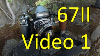 Пентакс 67II відео інструкція 1 з 2